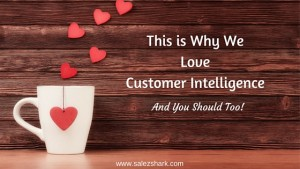 This is Why We LoveCustomer Intelligence