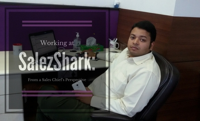 Working at SalezShark; From a Sales Chief's Perspective