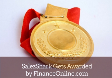 SalezShark Wins CRM Software Awards from FinancesOnline.com
