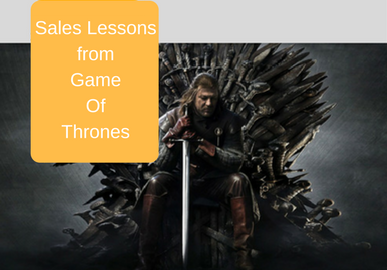 Sales Lessons From Game Of Thrones