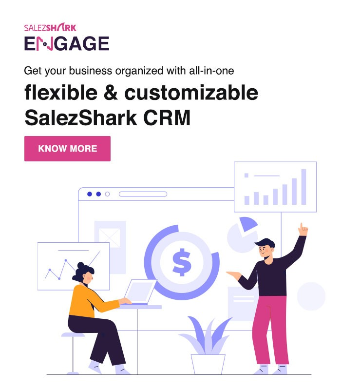 SalezShark Engage is powerful & intuitive CRM